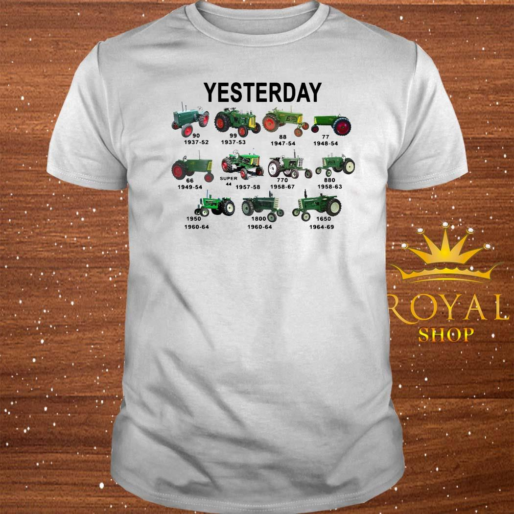 Yesterday Tractors Shirt
