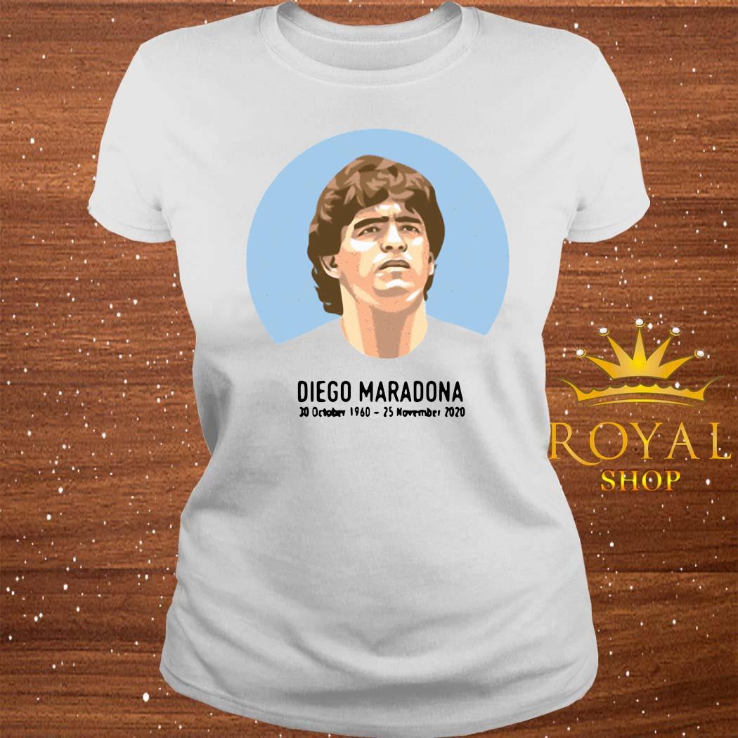 Legend Never Die Diego Maradona 1960-2020 Shirt ladies-tee