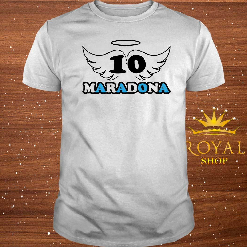 Rip Diego Armando Maradona Football Soccer Fan Lover Thank You For The Memories 2020 Shirt