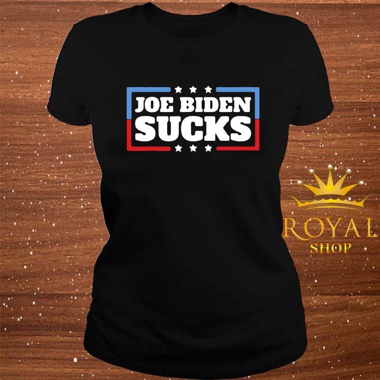 Anti Joe Biden Donald Trump Shirt ladies-tee