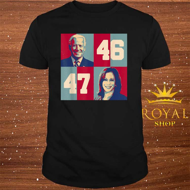 Biden Harris 2020 46 47 President Of Us Joe Kamala VP Shirt