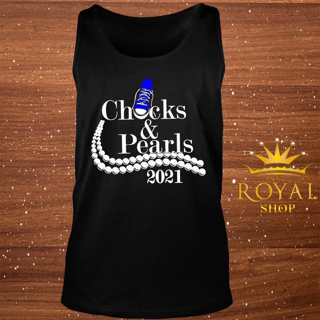 Chucks And Pearls 2021 Shirt tank-top