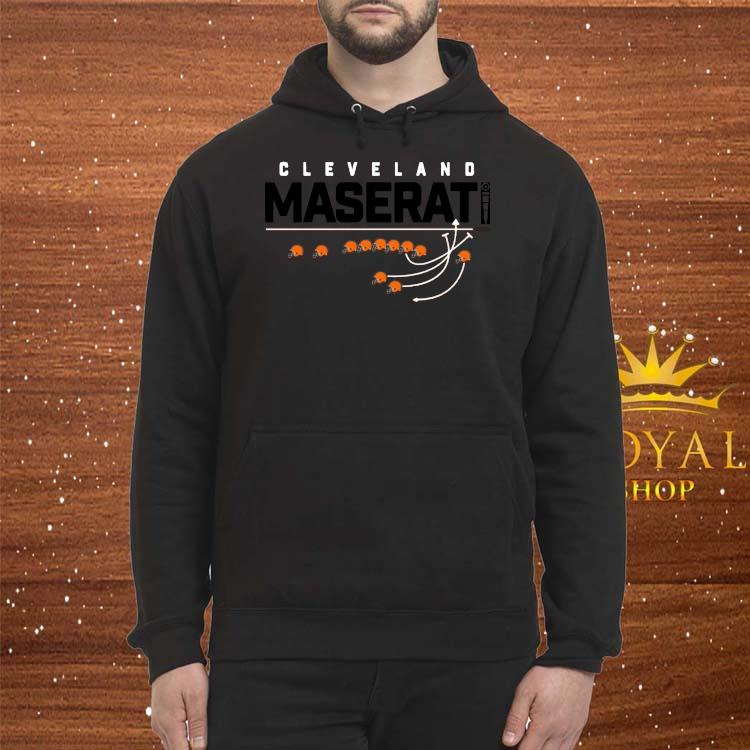 Cleveland Maserati Shirt Hoodie
