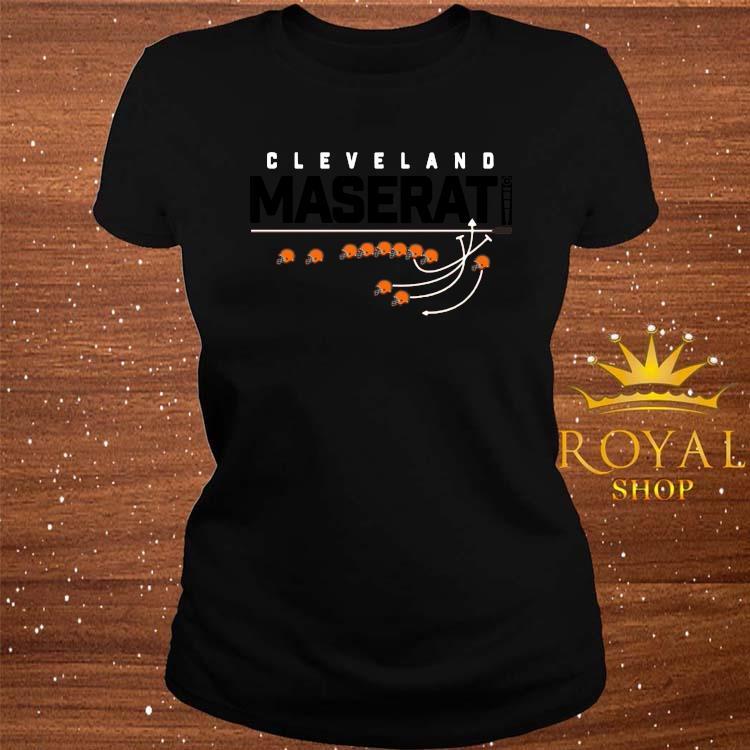 Cleveland Maserati Shirt ladies-tee