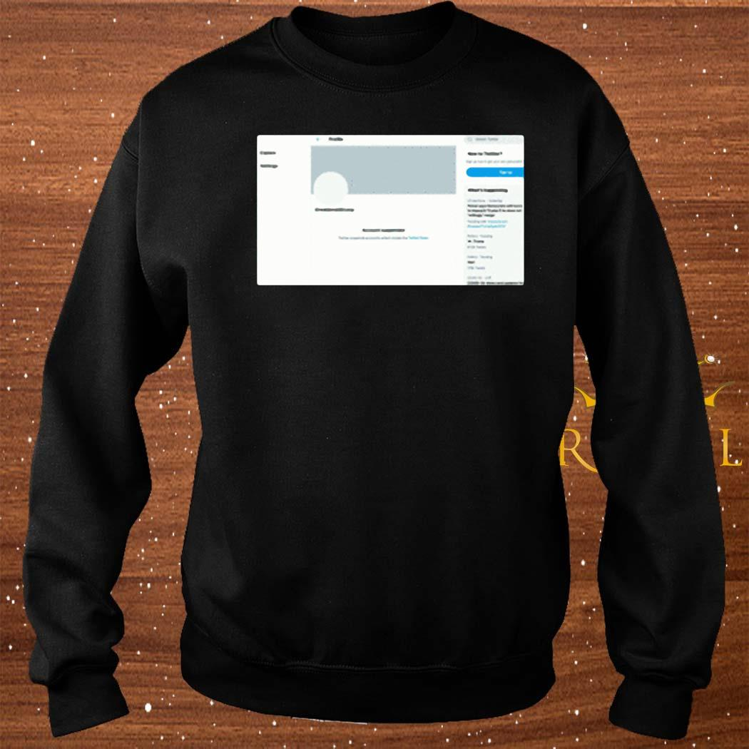 Donald Trump's Twitter Account Permanently Suspended Shirt sweater