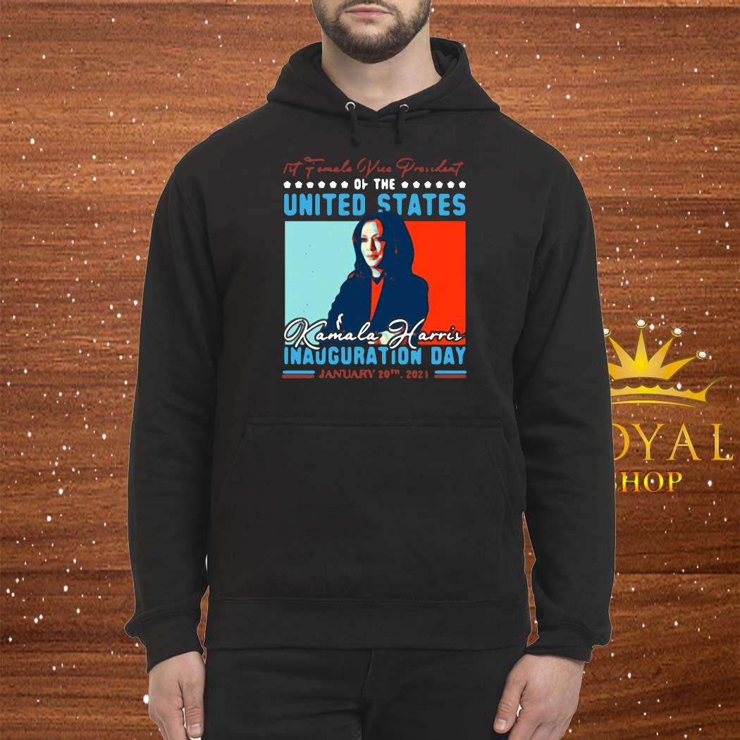 Harris First Female Vice President Biden Harris 2021 Inauguration Day Shirt Hoodie