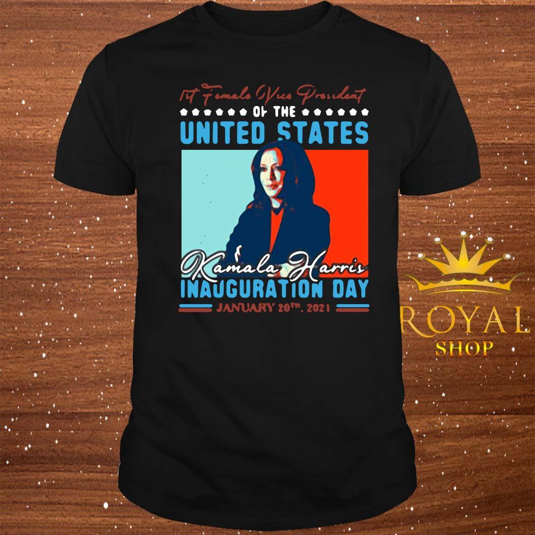Harris First Female Vice President Biden Harris 2021 Inauguration Day Shirt