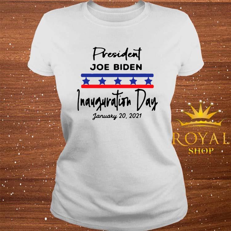 January 20, 2021 Is Inauguration Day President Joe Biden Shirt ladies-tee