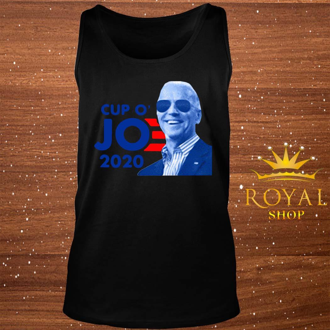 Joe Biden For President 2020 Cup O JO Democrat Shirt tank-top