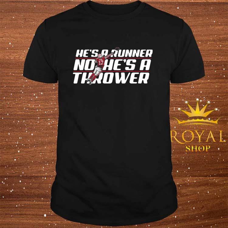 Josh Allen Runner No He's A Thrower Shirt