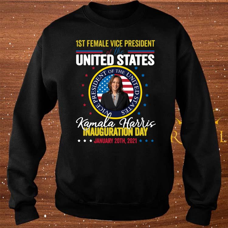 Kamala Harris First Female Vice President Inauguration Day Shirt sweater