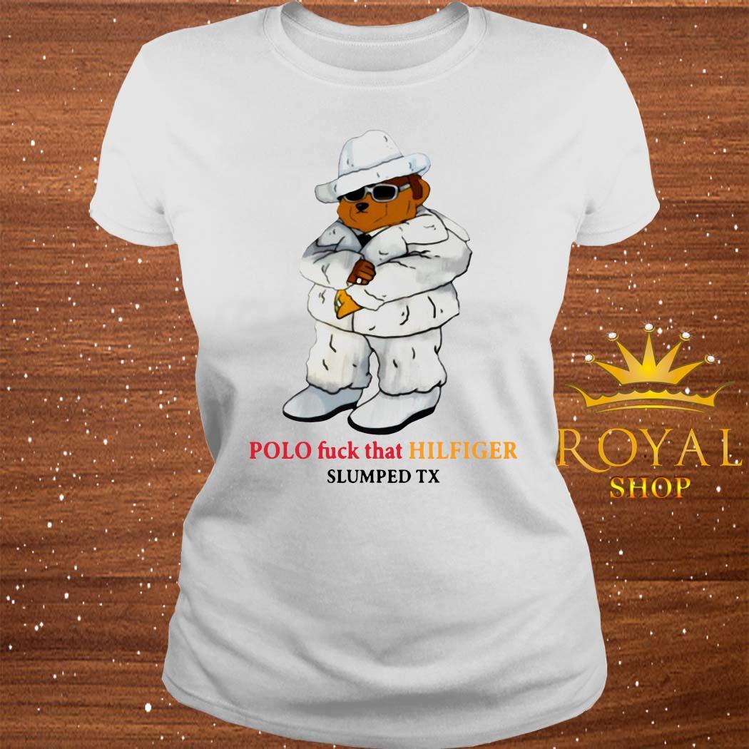Polo Fuck That Hilfiger Shirt ladies-tee