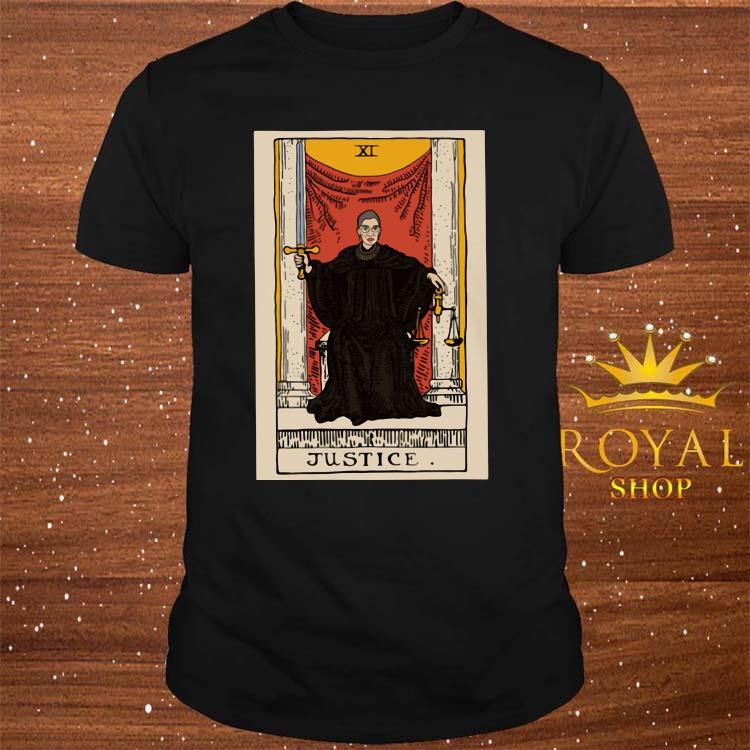 Ruth Bader Ginsburg Justice XI Shirt