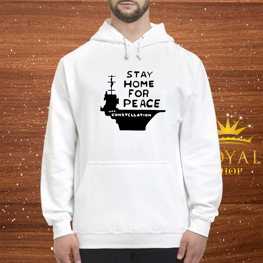 Stay Home For Peace Joan Baez Shirt hoodie