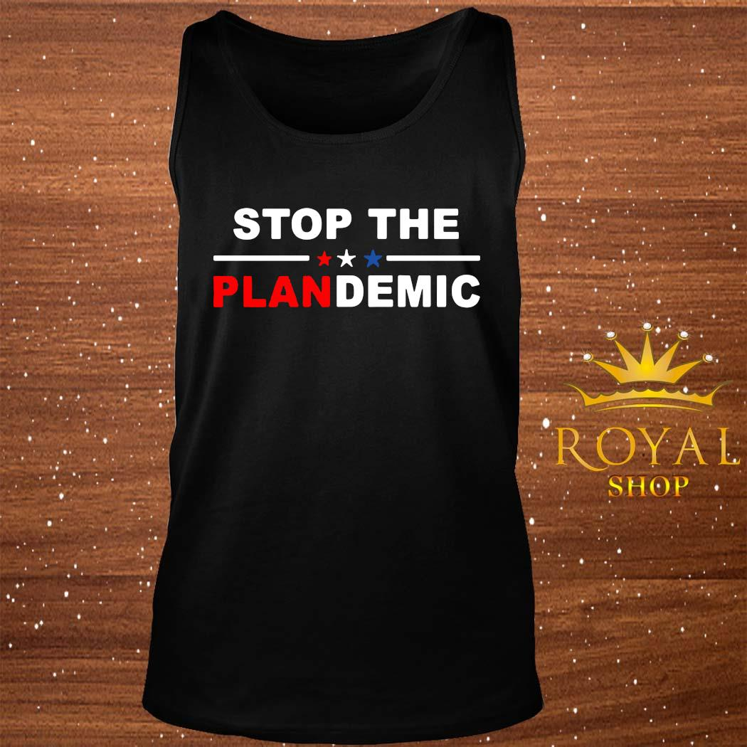 Stop The Plandemic Shirt tank-top