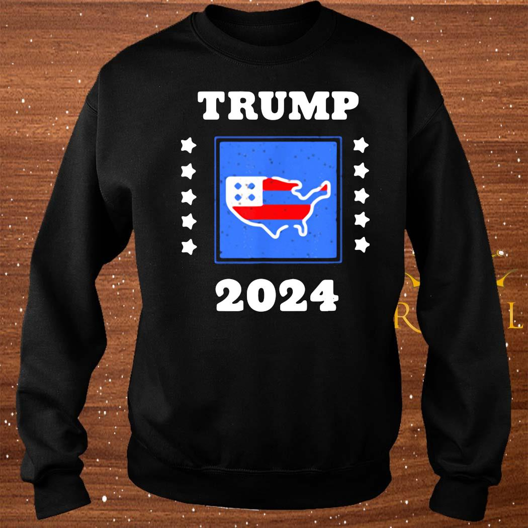 Trump 2024 Election Flag Keeping America Great American Flag President Shirt sweater