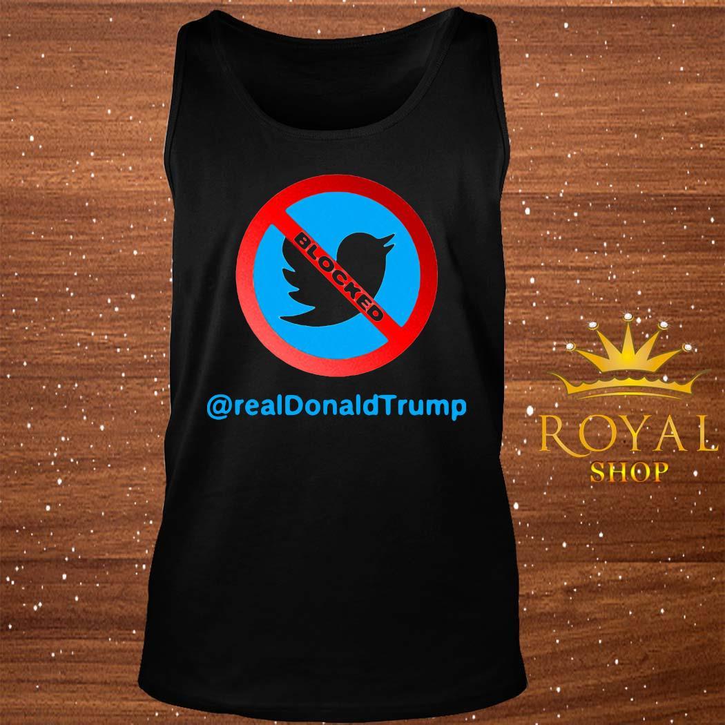 Twitter Donald Trump Account Suspende Shirt tank-top