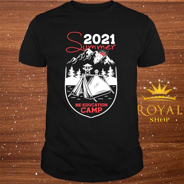 2021 Summer Camp Military Re-educate Shirt